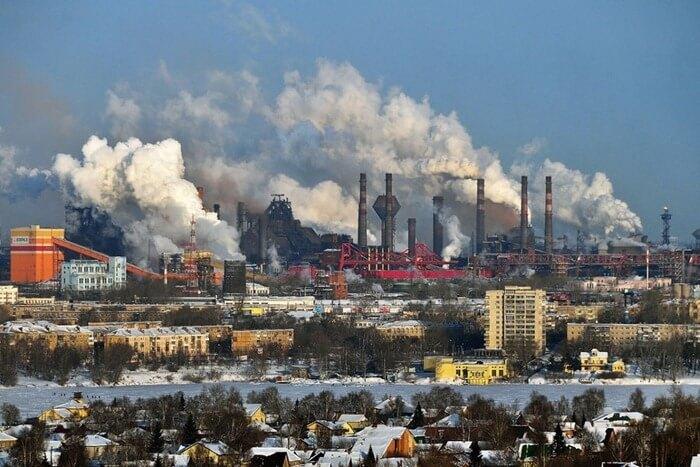 10 самых грязных городов России