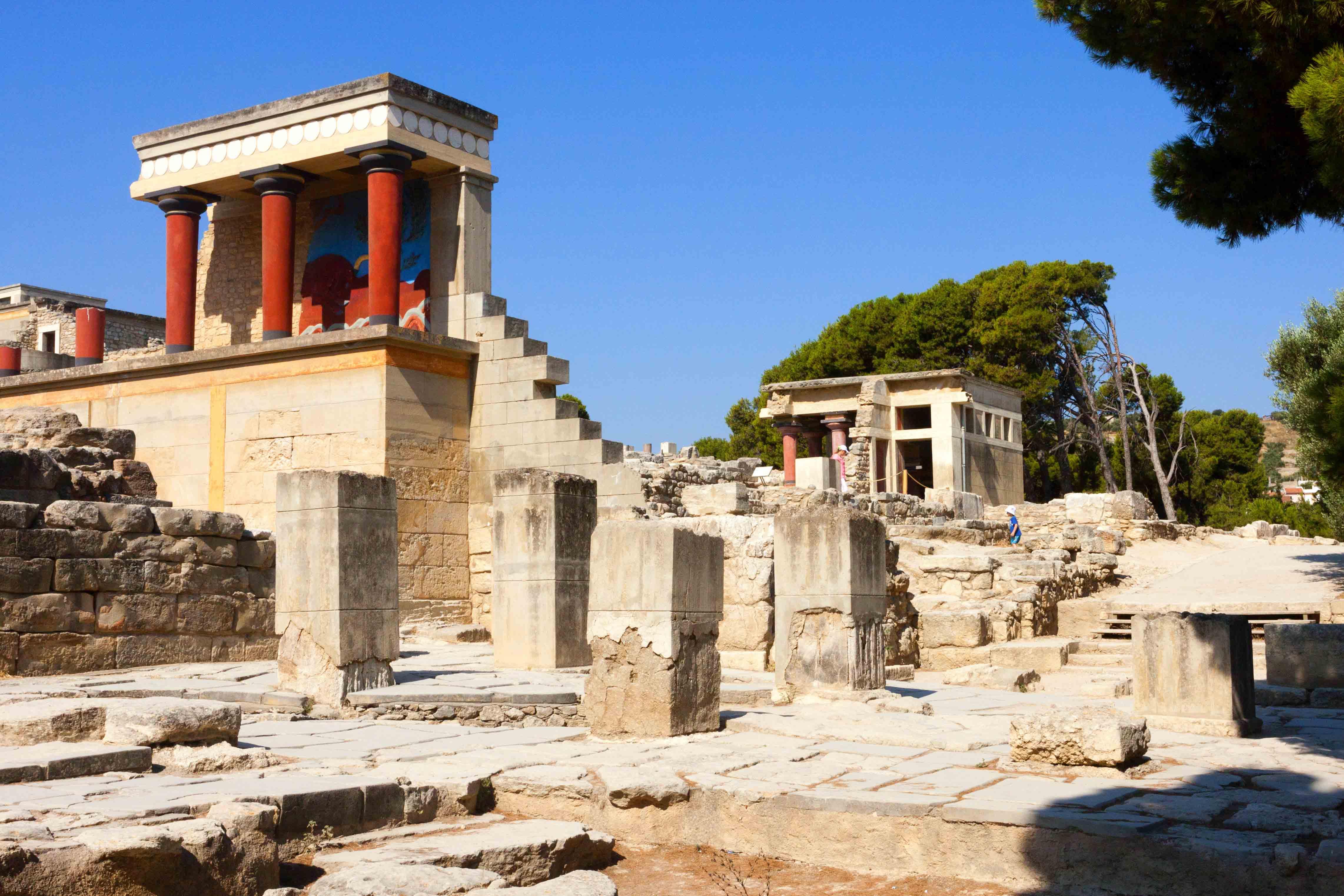 Главная достопримечательность Крита – Кносский дворец