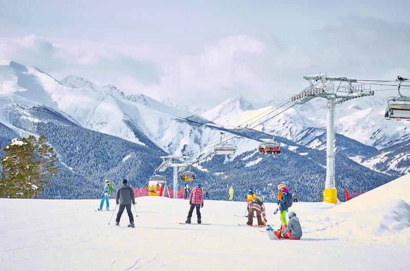 Лучший российский горнолыжный курорт Архыз