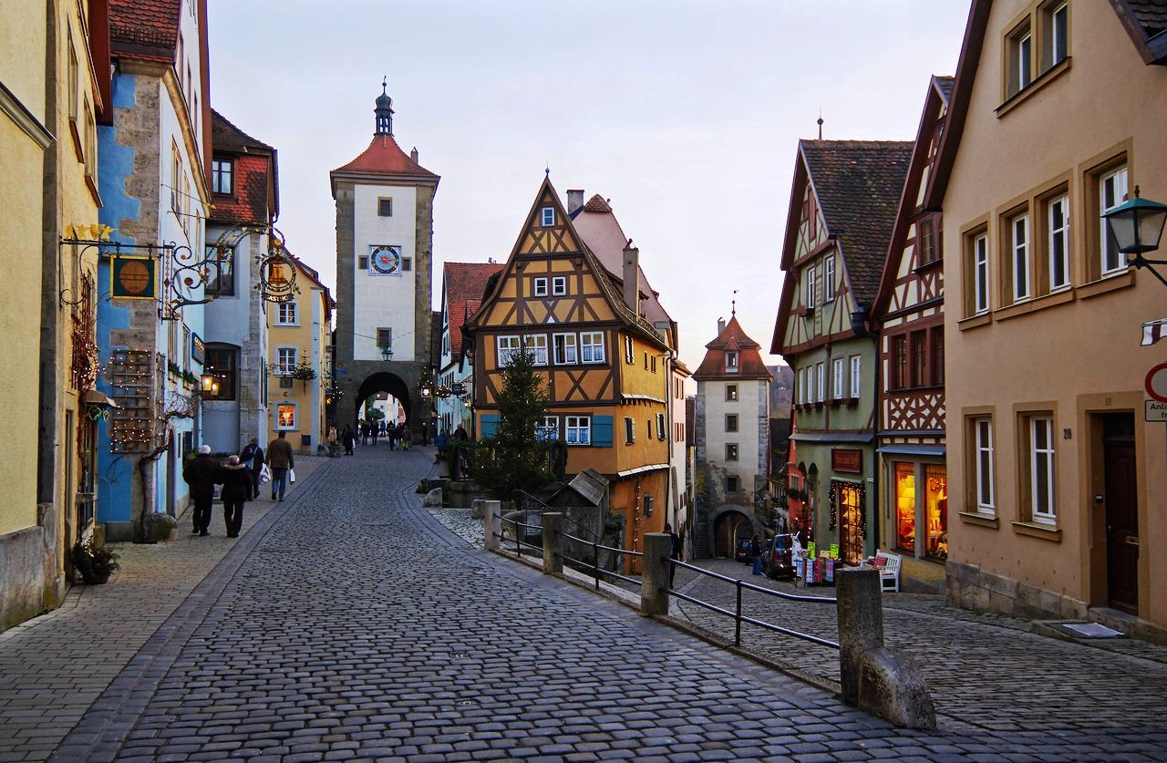 Ротенбург на Таубере – сказочный город Германии