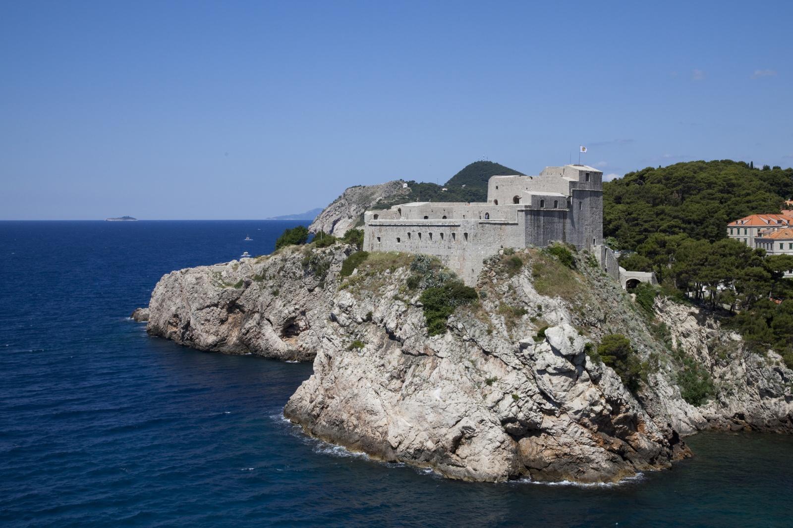 Самое красивое место Дубровника – крепость Ловриенац