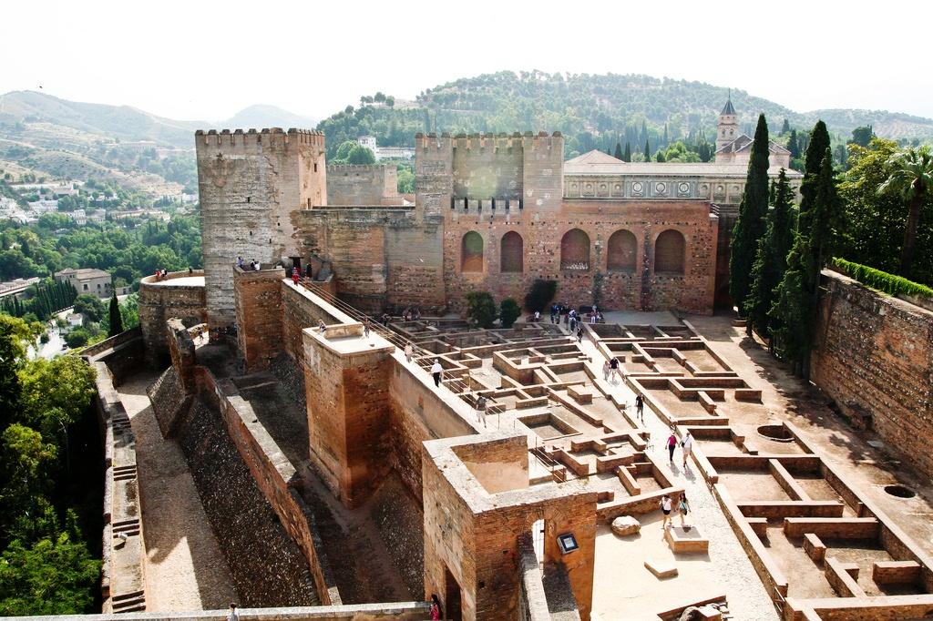Самые красивые места испанской Гранады
